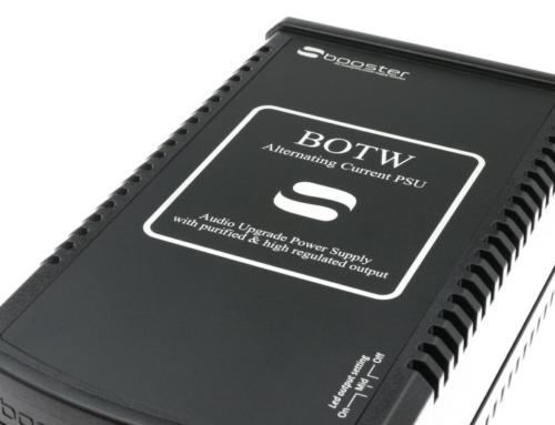 NYHET! SBooster 16V AC – Thorens / Pro-Ject